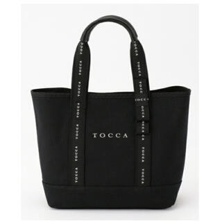 TOCCA - TOCCA 2019SS LOGO RIBBON CANVAS トートバッグ