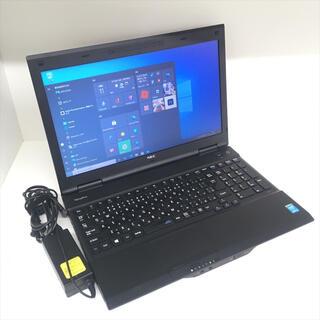 エヌイーシー(NEC)の●新品SSD●NEC PC-VJ25TLZDH 第4世代i5 Win10Pro(ノートPC)