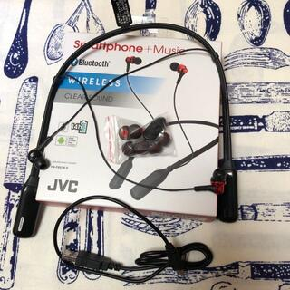 ビクター(Victor)の【中古】HA-FX57BT-R Bluetoothイヤホン(ヘッドフォン/イヤフォン)