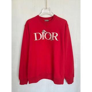 Dior - ディオール Dior スウェットシャツ 赤