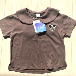 フタフタ(futafuta)のfutafuta ディズニー ミッキーTシャツ(Tシャツ/カットソー)