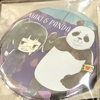 集英社 - 呪術廻戦 傘っこメタル缶バッジ 真希×パンダ
