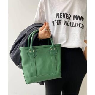 L'Appartement DEUXIEME CLASSE - 新品タグ付 Hello Bonjour Mini Tote Bag グリーン