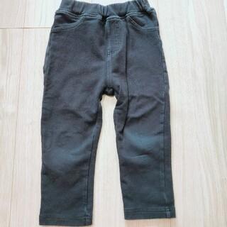 アカチャンホンポ(アカチャンホンポ)の男女兼用黒ズボン 90(パンツ/スパッツ)