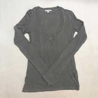 ジェームスパース(JAMES PERSE)の最終売り切り価格!JAMES PERSE 定番 グレー 0(Tシャツ(長袖/七分))