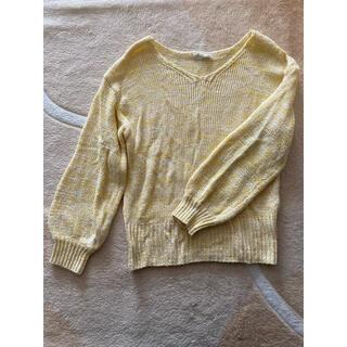 ショコラフィネローブ(chocol raffine robe)の【ショコラフィネローブ】春ニット(ニット/セーター)