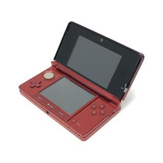 訳あり Nintendo 3DS 本体 レッド系(家庭用ゲーム機本体)
