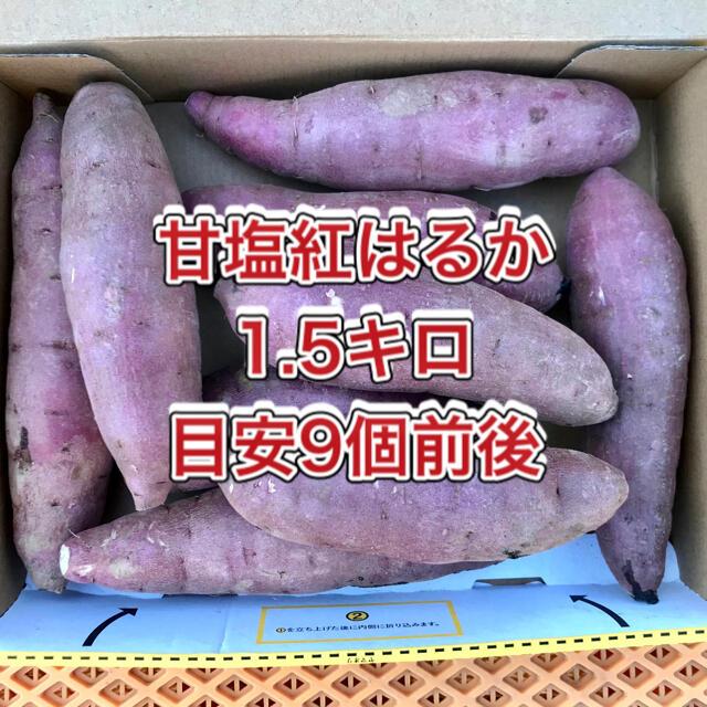 【鹿児島産】甘塩サツマイモ箱込み1.5キロ^_^ 食品/飲料/酒の食品(野菜)の商品写真