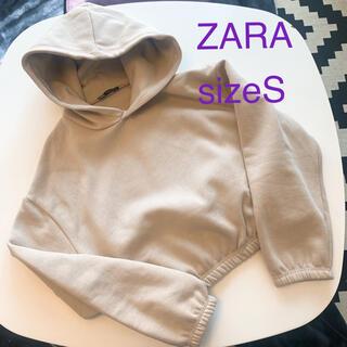 ZARA - ZARA  ショート丈フーディ レディース sizeS