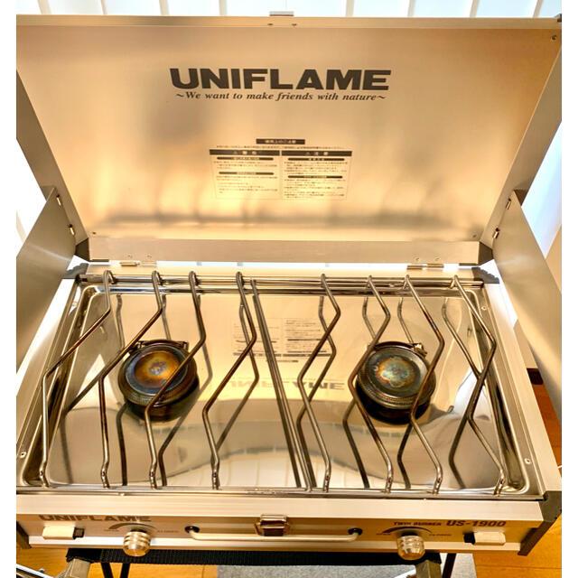 UNIFLAME(ユニフレーム)のユニフレーム ツインバーナー スポーツ/アウトドアのアウトドア(ストーブ/コンロ)の商品写真