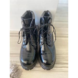 ティンバーランド(Timberland)のTimberland エナメルブーツ 店頭限定モデル (ブーツ)