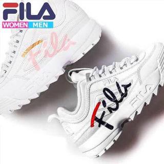FILA - FILA レディース厚底スニーカー