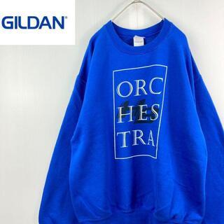 ギルタン(GILDAN)のgildanギルダンジルダンプリントスウェットスエットトレーナーユニセックスM(スウェット)