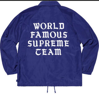 Supreme - SUPREME World Famous Coaches Jacket