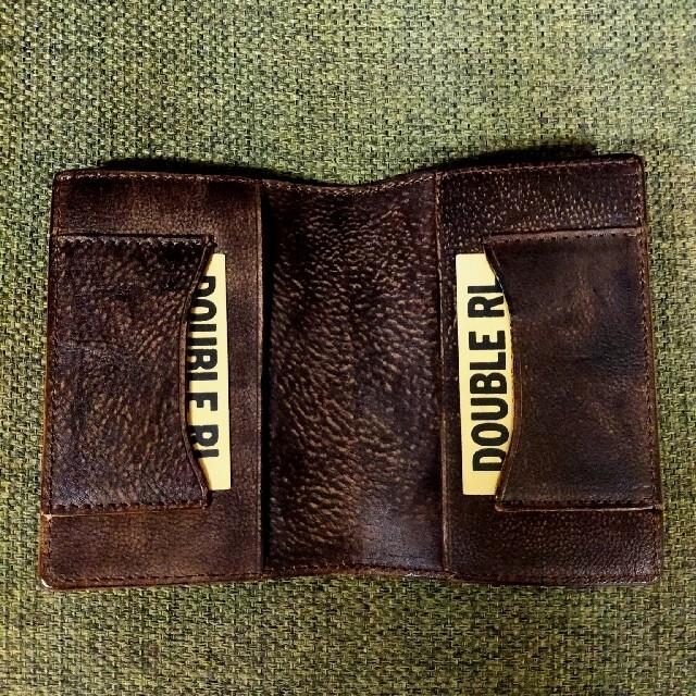 RRL(ダブルアールエル)のRRL パスポートケース  レザー メンズのファッション小物(折り財布)の商品写真