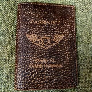 RRL - RRL パスポートケース  レザー