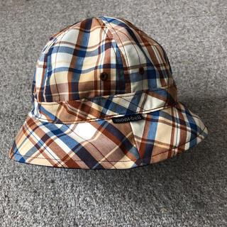 モンベル(mont bell)のモンベルのキッズ リバーシブルハット(帽子)