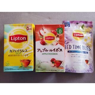 リプトン デカフェ アップルルイボス フレーバーティー ノンカフェイン(茶)