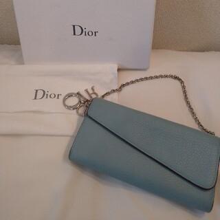 Christian Dior - Dior チェーンウォレット 長財布 DIORISSIMO ディオリッシモ ロゴ