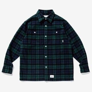 W)taps - WTAPS UNION LS SHIRT TEXTILE シャツ