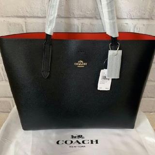 COACH - COACH  コーチF31535 トートバッグ ブラックXレッド アウトレット