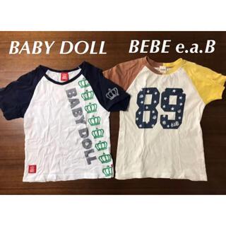 ベビードール(BABYDOLL)の週末値下 まとめ売 BABYDOLL ベビードール BEBEe.a.B Tシャツ(Tシャツ/カットソー)