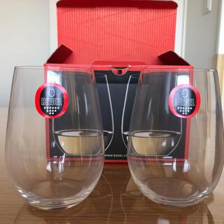 リーデル(RIEDEL)のリーデル ペア ステムレスワイングラス 未使用(グラス/カップ)