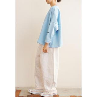 COMOLI - outil tricot locronan ライトブルー