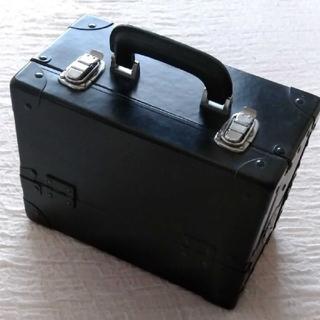 黒色・コスメボックス(メイクボックス)
