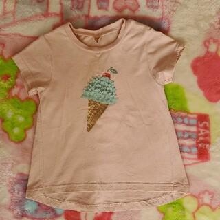 petit main - プティマイン アイス Tシャツ 110