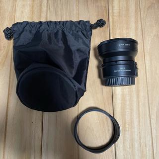 リコー(RICOH)のリコー ワイドコンバージョンレンズ GW-3 プロテクター、アダプター付属 (レンズ(単焦点))