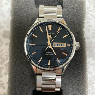 タグホイヤー(TAG Heuer)のタグホイヤー カレラ キャリバー5 デイデイト WAR201C.BA0723(腕時計(アナログ))