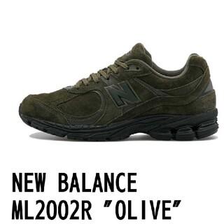 ニューバランス(New Balance)の27cm★オリーブ★New Balance ML2002RM OLIVE(スニーカー)