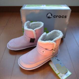 クロックス(crocs)のタグ付き新品!crocs キッズブーツ 19cm(ブーツ)