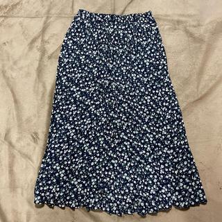 RETRO GIRL - 花柄ロングスカート