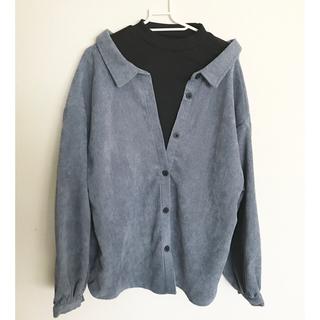 しまむら - レイヤードシャツ L