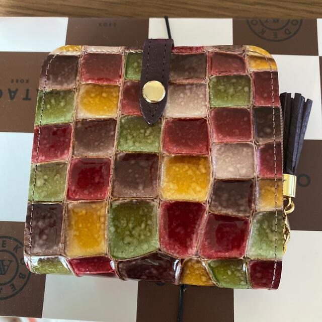 ATAO(アタオ)の【美品】ATAO 二つ折り財布 セピア レディースのファッション小物(財布)の商品写真