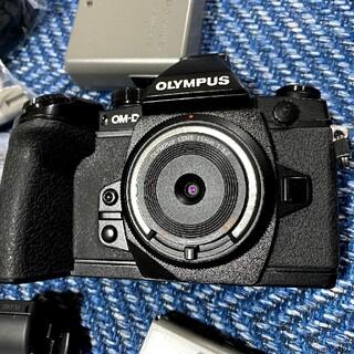 オリンパス(OLYMPUS)のOLYMPUS OM-D E-M1  単焦点レンズセット(ミラーレス一眼)