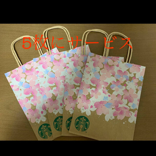 Starbucks Coffee - スタバ SAKURA 2021 ショッパー 4枚