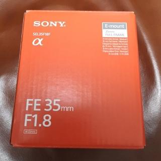 SONY - ■新品■ ソニー Eマウントレンズ FE 35mm F1.8  SEL35F18