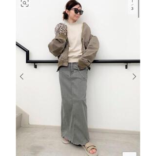 L'Appartement DEUXIEME CLASSE - GOOD GRIEF♡DENIM LONG SK with Chain