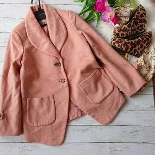 ミーア(MIIA)の新品!わけあり!MIIA☆ウール×襟付きジャケットコート(テーラードジャケット)