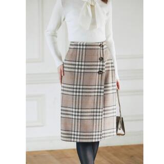 tocco - 【値下げ】tocco closet チェックタイトスカート