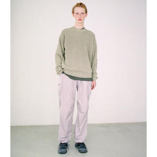 COMOLI - AURALEE オーラリー 21ss NYLON FATIGUE PANTS