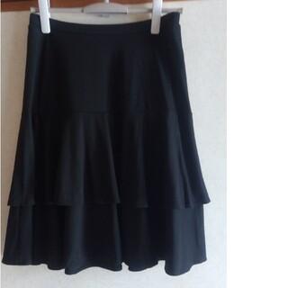 UNIQLO -  ユニクロ ブラック スカート ウエストゴム 丈51