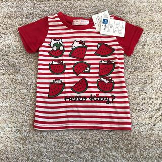サンリオ(サンリオ)の新品★ キティーちゃん 半袖シャツ 80サイズ(Tシャツ)