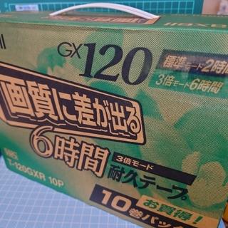 マクセル(maxell)の【新品】maxell  VHSビデオテープ T-120GXR・10巻パック(その他)