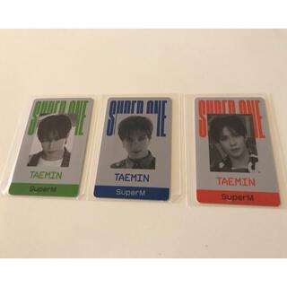 SHINee - SuperM テミン  TAEMIN トレカ IDカード