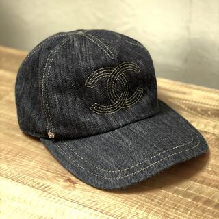 シャネル(CHANEL)の❀︎美品⭐️CHANEL シャネル⭐️デニムココマーク⭐︎キャップ★帽子❀︎(キャップ)