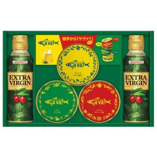 エイージーエフ(AGF)の6セット_AGF 味の素 オリーブオイル&サヴァ缶アソートギフト SAVA-30(缶詰/瓶詰)
